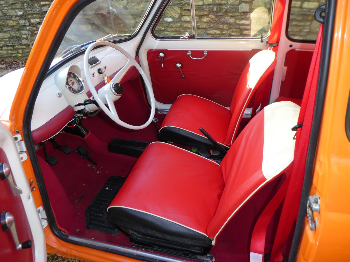 1967 Fiat 500 saloon For Sale (picture 6 of 6)