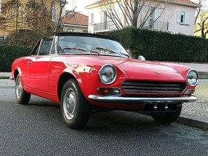 1969 Fiat 124 Sport Spider AS