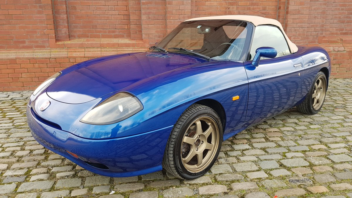 2001 FIAT BARCHETTA 1.7 LHD CONVERTIBLE FRESH IMPORT RARE COLOUR For Sale (picture 1 of 6)