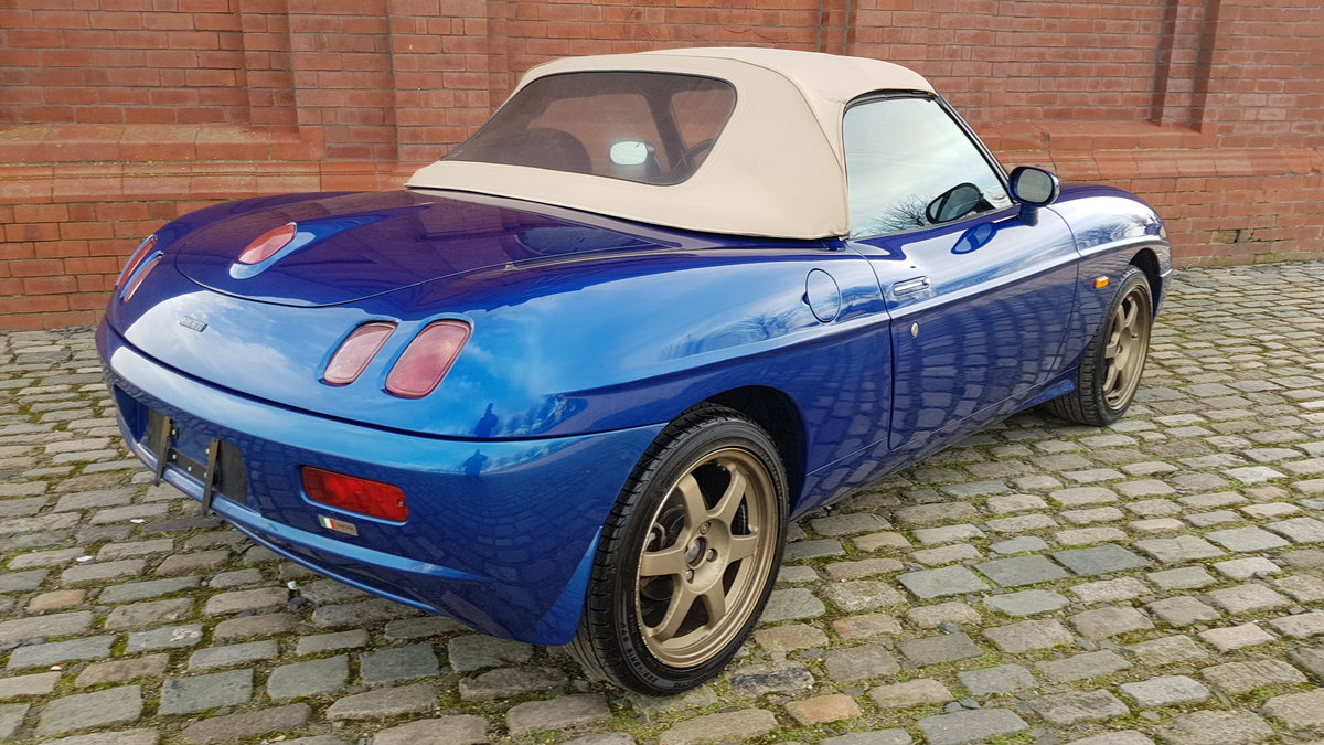 2001 FIAT BARCHETTA 1.7 LHD CONVERTIBLE FRESH IMPORT RARE COLOUR For Sale (picture 2 of 6)