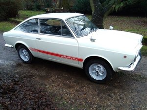 1968 Fiat 850 Sport Coupe Series II at ACA 25th January