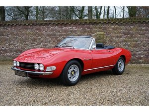1972 Fiat Dino 2400 Spider only 420 made, extensive history file