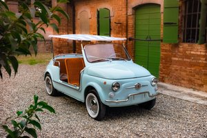 1968 Fiat 500 Jolly Rep - Fresh restoration - Concours Condition