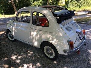1960 Fiat 500 d trasformabile