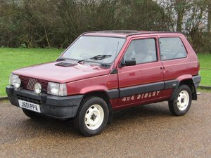 1991 Fiat Panda Sisley 4x4 at ACA 25th January