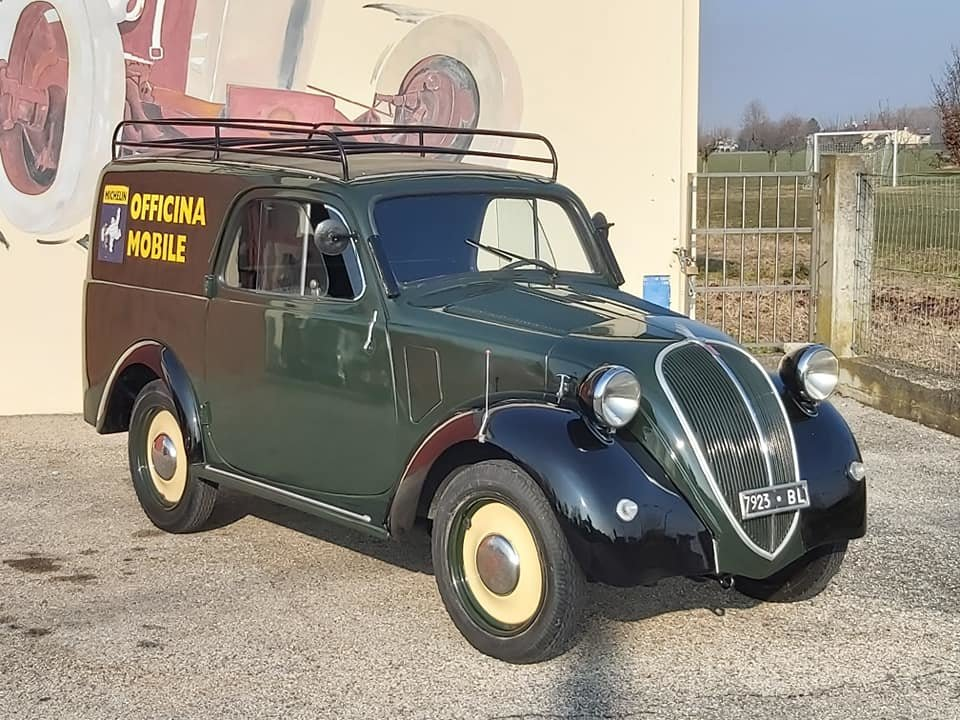 1948 Fiat Topolino A Furgoncino/commercial Van For Sale (picture 1 of 6)