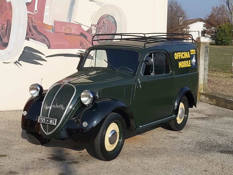 1948 Fiat Topolino A Furgoncino/commercial Van For Sale (picture 2 of 6)