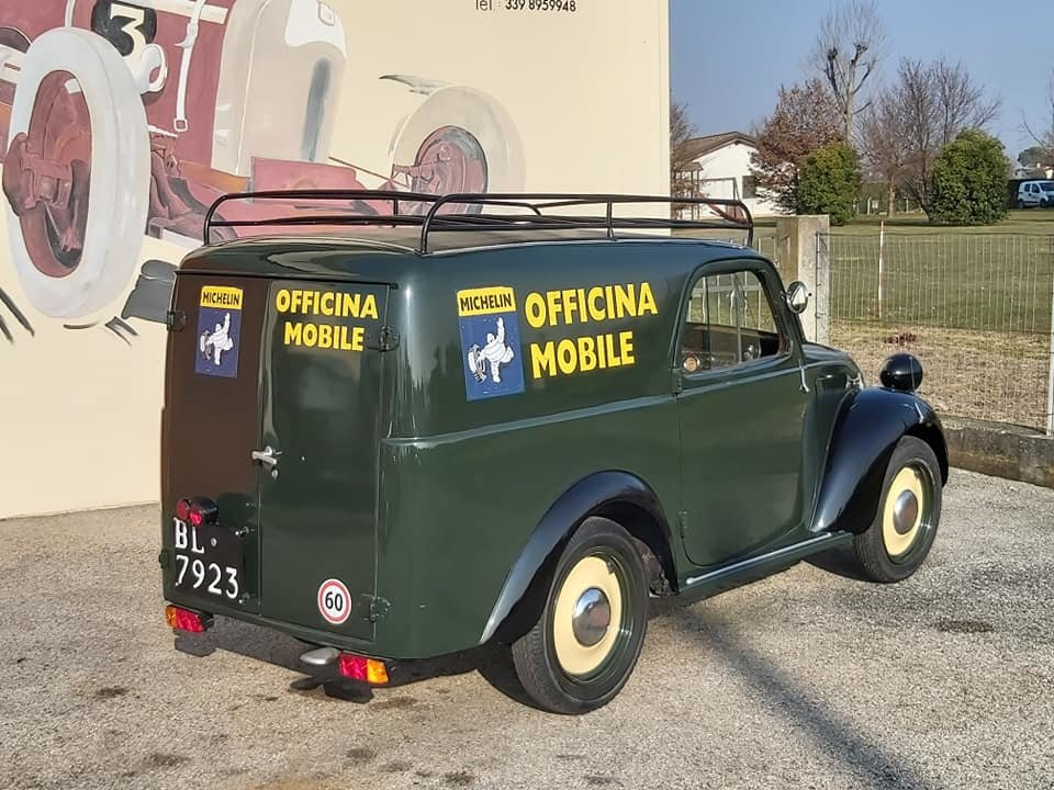 1948 Fiat Topolino A Furgoncino/commercial Van For Sale (picture 6 of 6)