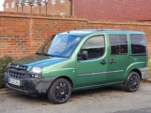 2002 LEFT HAND DRIVE FIAT DOBLO 1.9 JTD ELX MPV + 7 SEATER + LHD  For Sale