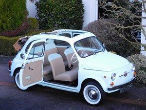 Fiat 500D Trasformabile 1964 / RHD / Restored & Exceptional! For Sale