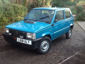 1993 Fiat Panda Trials Car
