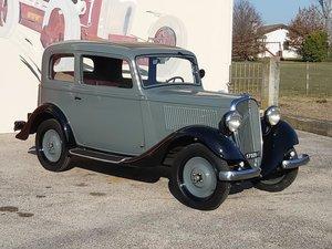 1934 Fiat 508 Balilla 4 speed