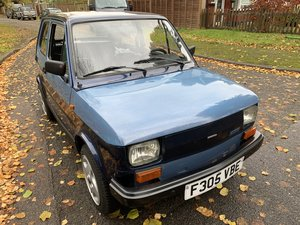 1989 LHD FIAT 126  For Sale