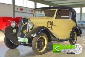 1934 Fiat Balilla 508 Spider Garavini