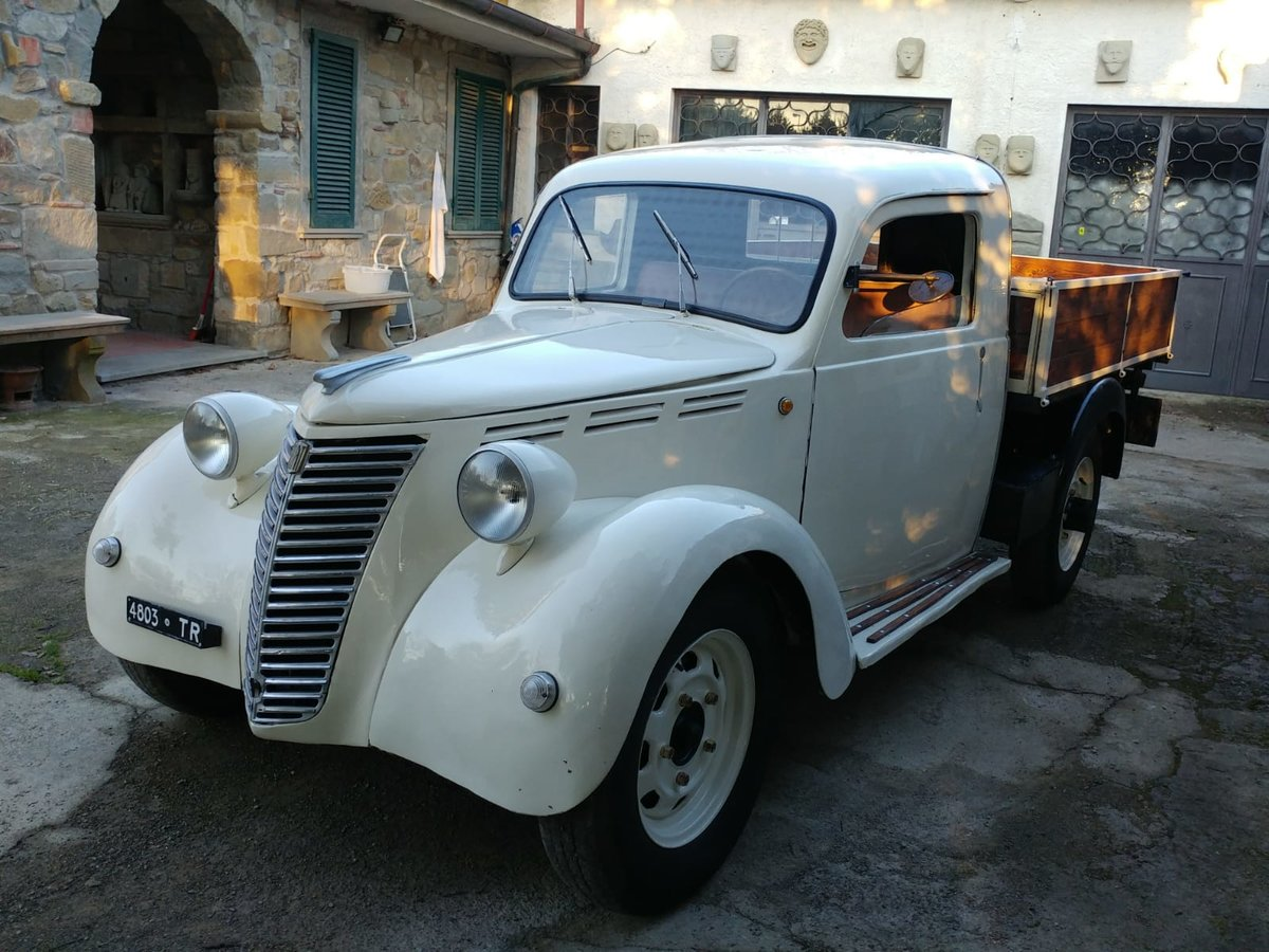 1946 Fiat 1100 ELR Furgone Transporter For Sale (picture 1 of 3)