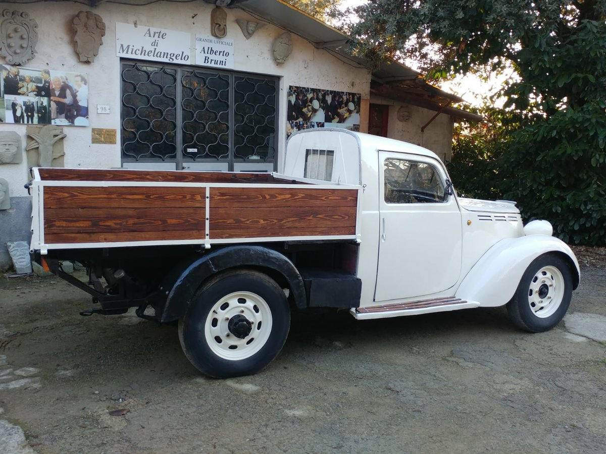 1946 Fiat 1100 ELR Furgone Transporter For Sale (picture 2 of 3)