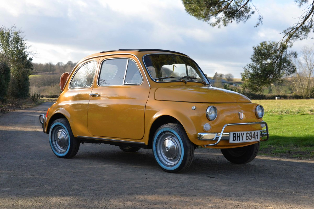 1970 FIAT 500L LHD  For Sale (picture 1 of 6)