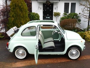 Fiat 500D Trasformabile Classic 1964 / LHD Italy / Concours!