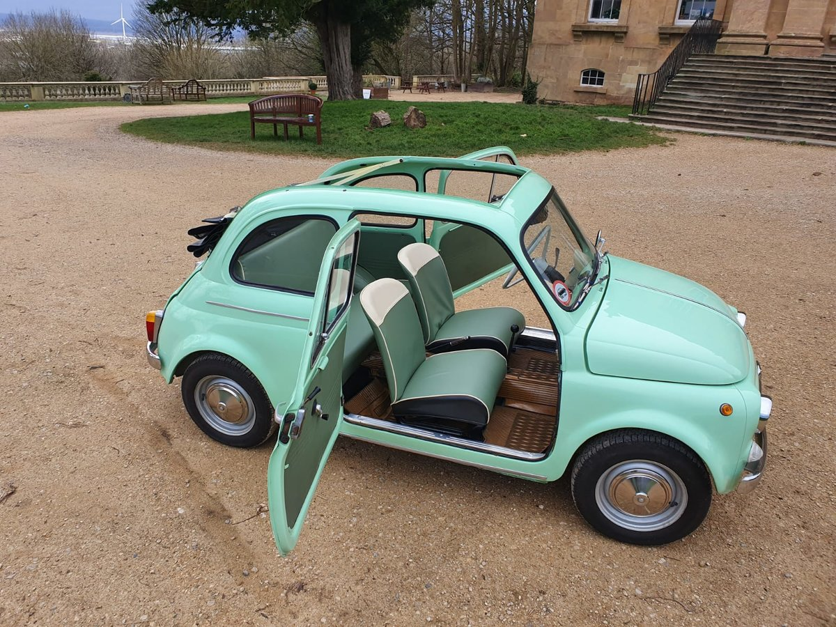 1963 Fiat 500 d with suicide doors - great example For Sale (picture 2 of 6)
