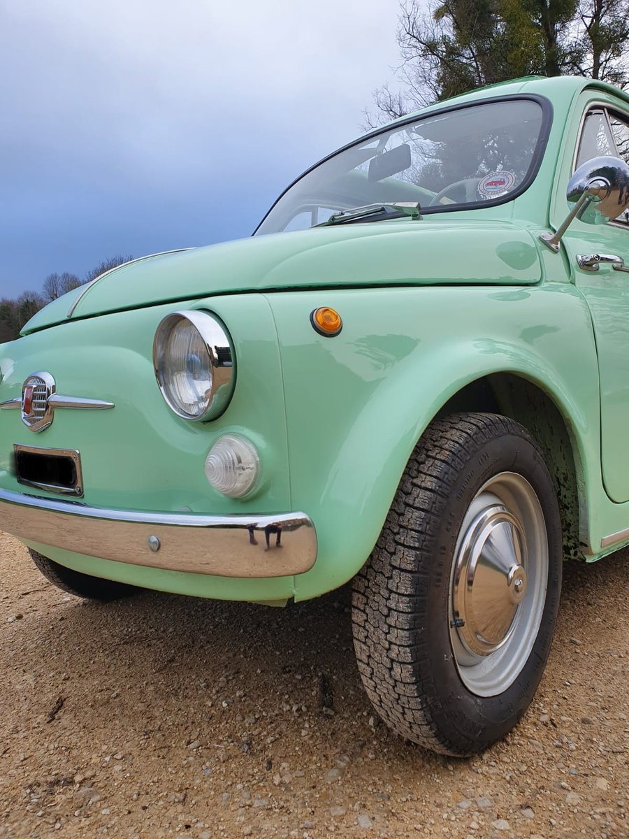 1963 Fiat 500 d with suicide doors - great example For Sale (picture 3 of 6)