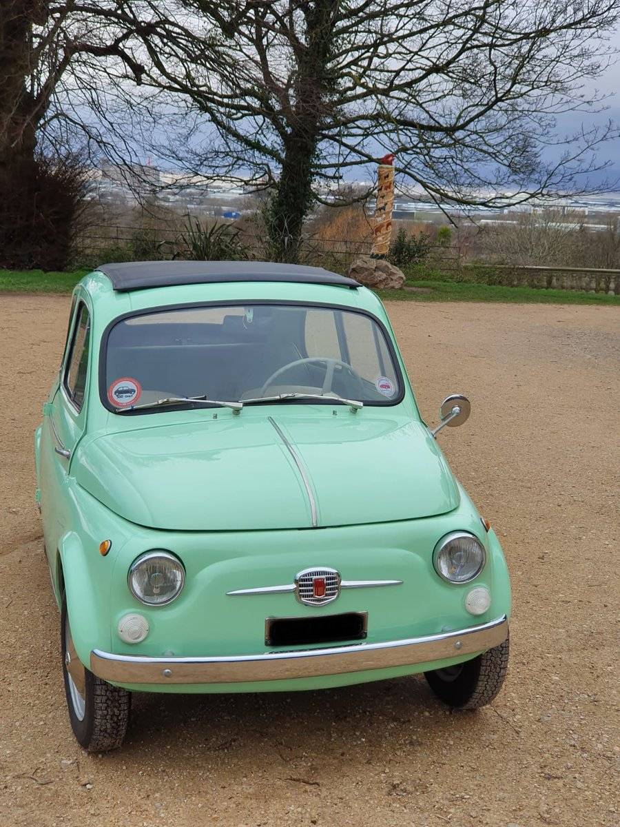 1963 Fiat 500 d with suicide doors - great example For Sale (picture 4 of 6)