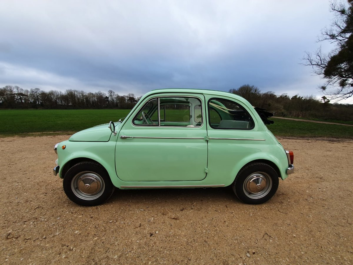 1963 Fiat 500 d with suicide doors - great example For Sale (picture 6 of 6)