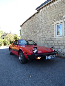 1987 Fiat Bertone X1/9 Late model in stunning condition