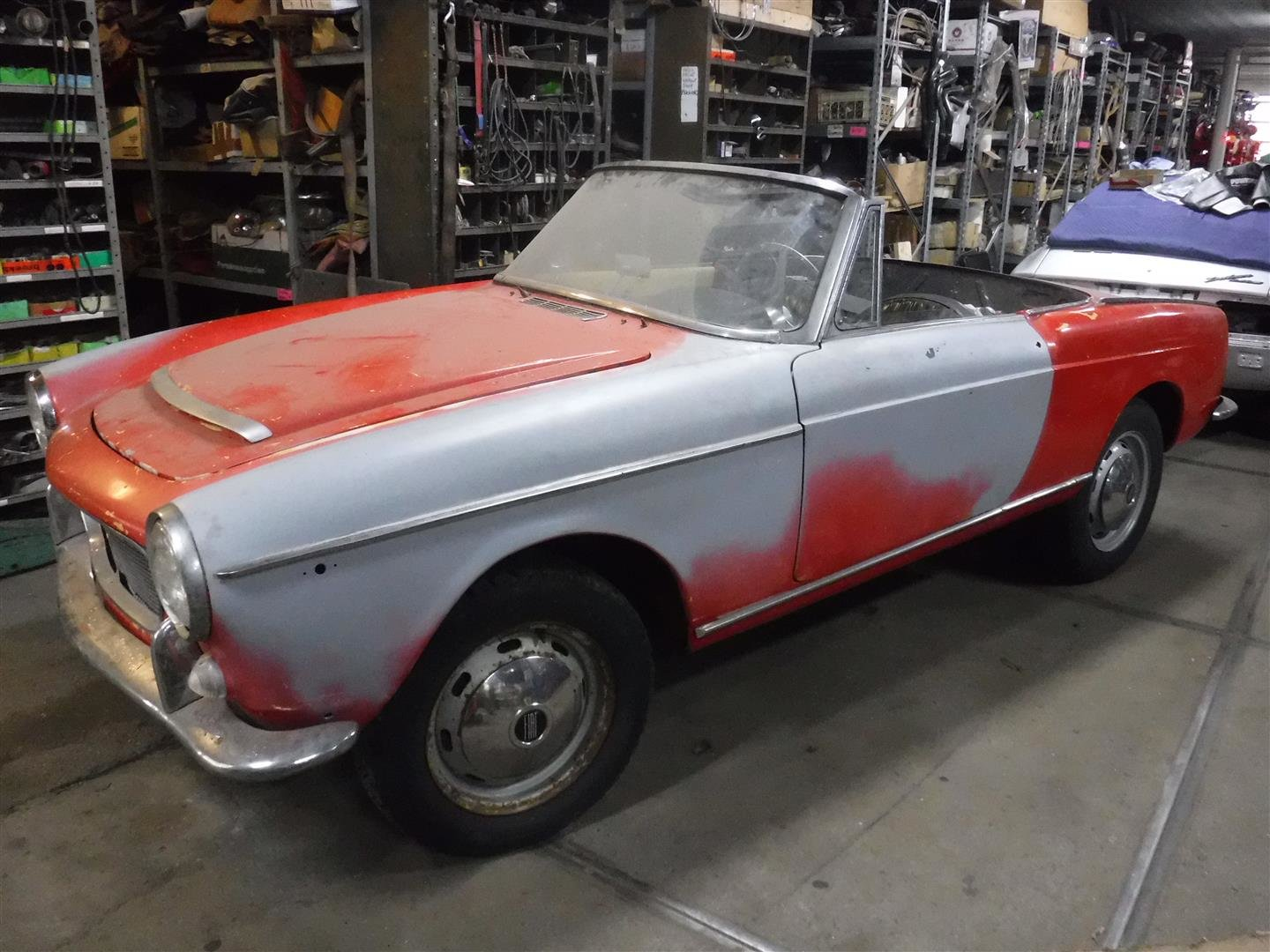 1962 Fiat Osca 1500 spider '62 For Sale (picture 1 of 6)
