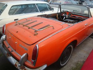 1967 Fiat 1500 cabrio to restore!! For Sale