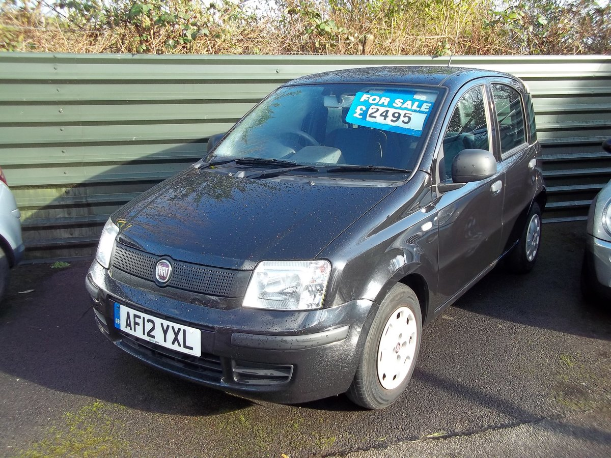 2012 Fiat Panda 1.2 For Sale (picture 1 of 5)
