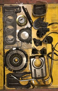 Lot spare parts DINO FIAT