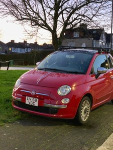 Fiat 500 Low Mileage Well equipped well maintained