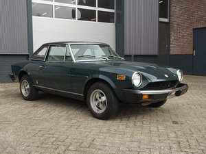 1976 Fiat 124 Spider with hardtop  For Sale