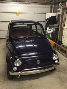 1967 fiat 500 fully restored.