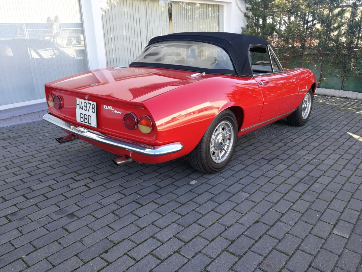 1967 Fiat Dino Spider 2.0 V6 For Sale (picture 4 of 6)