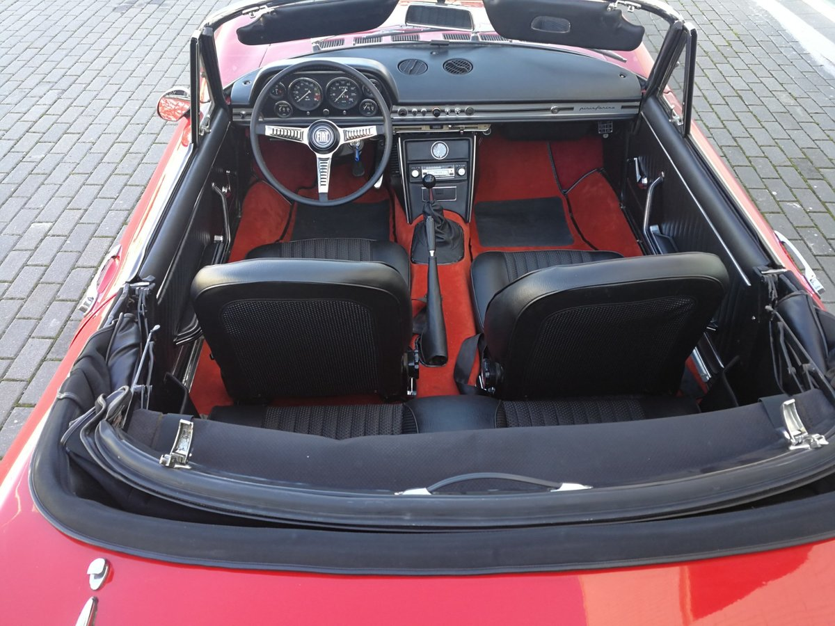1967 Fiat Dino Spider 2.0 V6 For Sale (picture 5 of 6)