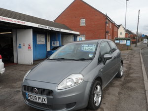 PUNTO 3 DOOR 1400cc SMART NEW MOT ALLOY WHEELS A.B.S 2009
