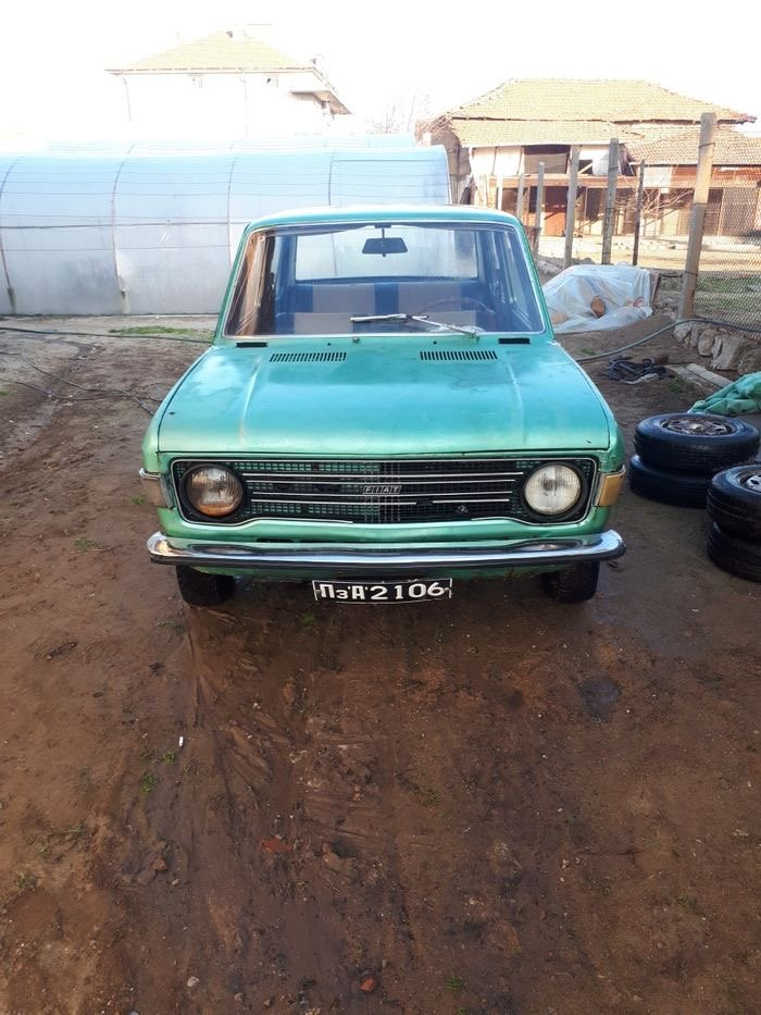 1972 FIAT 128 Beautiful Blue Left Hand Drive For Sale (picture 1 of 6)