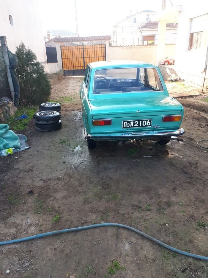 1972 FIAT 128 Beautiful Blue Left Hand Drive For Sale (picture 4 of 6)