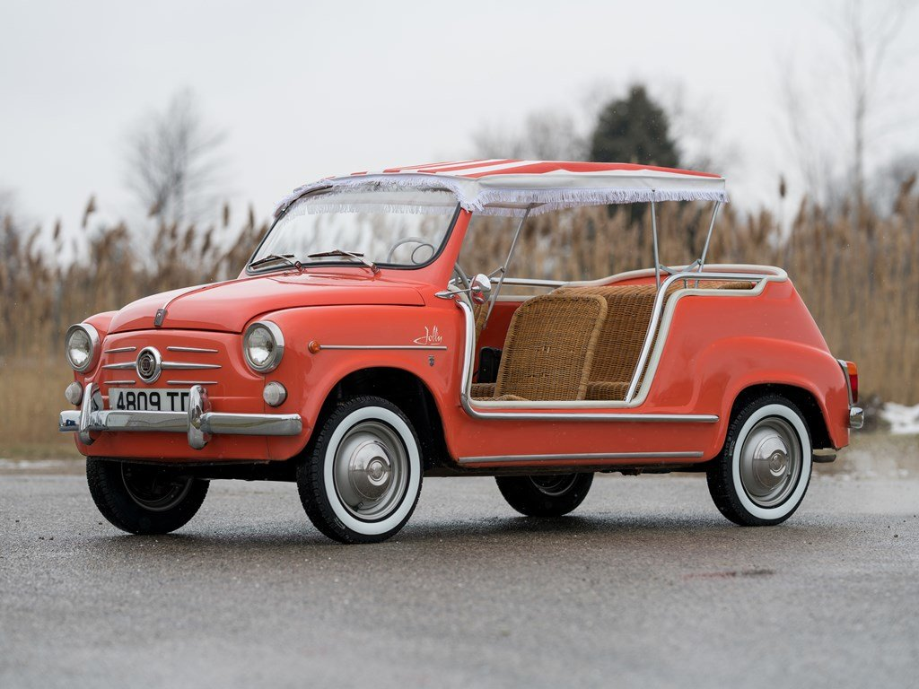 1962 Fiat 600 Jolly by Ghia For Sale by Auction (picture 1 of 6)