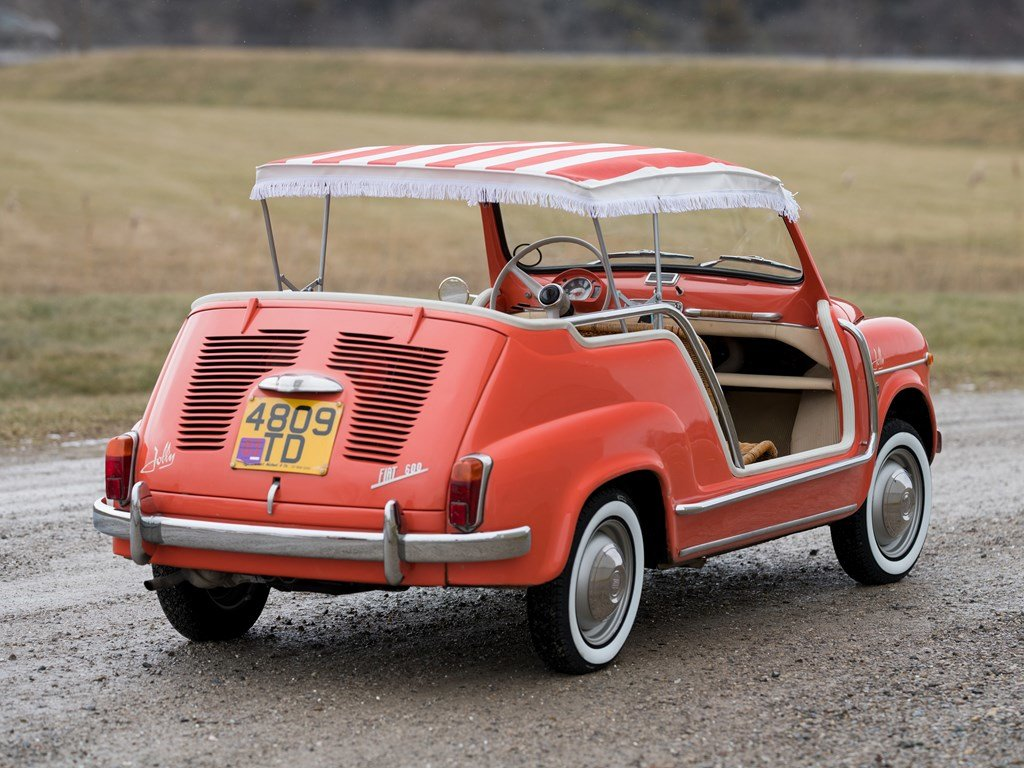 1962 Fiat 600 Jolly by Ghia For Sale by Auction (picture 2 of 6)
