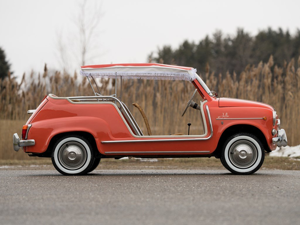 1962 Fiat 600 Jolly by Ghia For Sale by Auction (picture 5 of 6)
