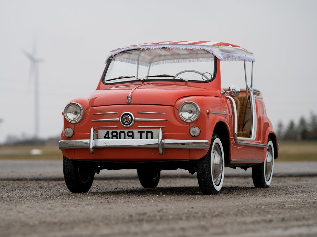 1962 Fiat 600 Jolly by Ghia For Sale by Auction (picture 6 of 6)