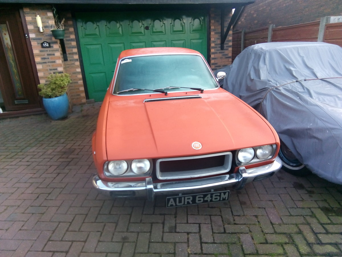 Picture of 1974 Fiat 124 sports coupe orange For Sale