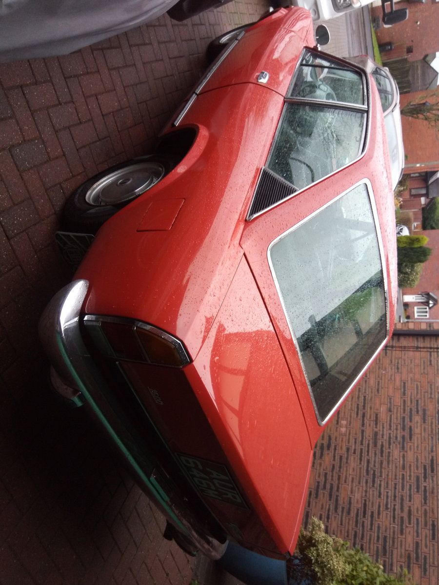 1974 Fiat 124 sports coupe orange For Sale (picture 2 of 5)