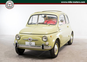 1963 Fiat Nuova 500 D Cabriolet *Totally restored * Asi Certified