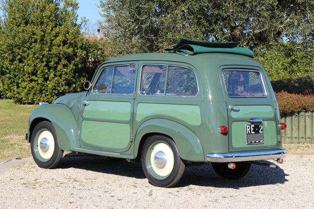 1954 Fiat 500 C Topolino Belvedere For Sale (picture 6 of 6)
