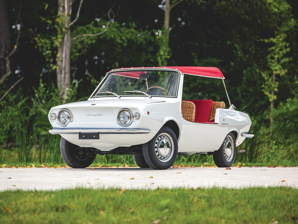 1970 Fiat 850 Spiaggetta by Michelotti For Sale by Auction (picture 1 of 6)