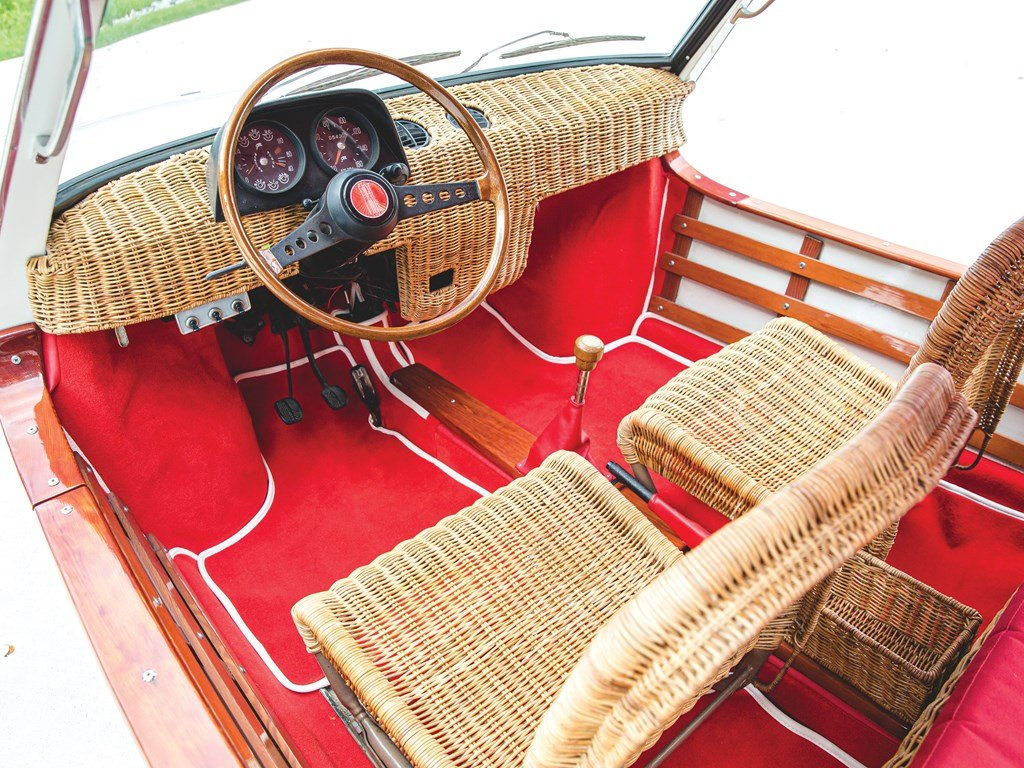 1970 Fiat 850 Spiaggetta by Michelotti For Sale by Auction (picture 4 of 6)