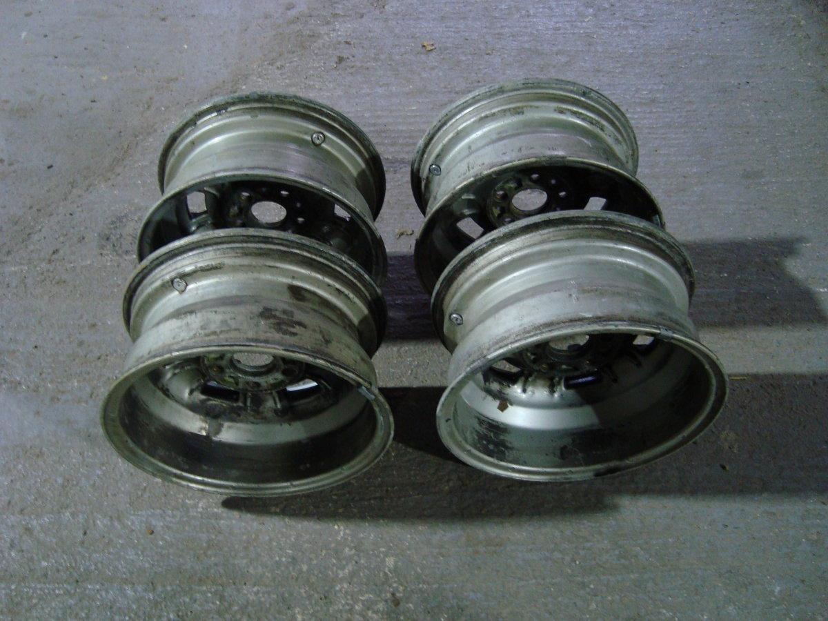 1971 Cromodora Orginial Fiat Dino Magnesium/Alloy wheels x 4 For Sale (picture 3 of 6)